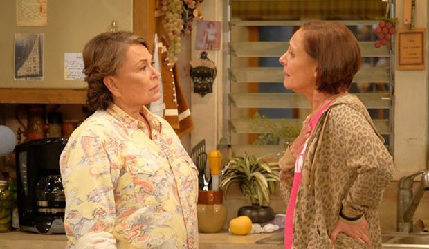 Roseanne Barr and Laurie Metcalf, Roseanne