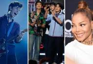 Shawn Mendes BTS and Janet Jackson at the Billboard Music Awards 2018