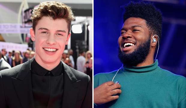 Shawn Mendes and Khalid