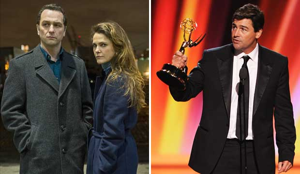 The Americans and Kyle Chandler at the Emmys