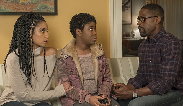 Susan Kelechi Watson, Lyric Ross and Sterling K. Brown, This Is Us