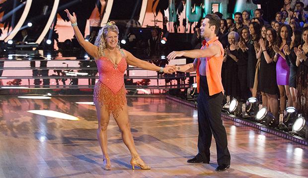 Tonya Harding and Sasha Farber, Dancing with the Stars: Athletes