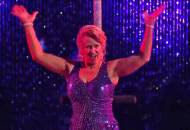 Tonya Harding freestyle in Dancing with the Stars Athletes finale