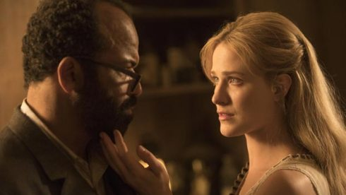 Evan Rachel Wood and Jeffrey Wright Westworld