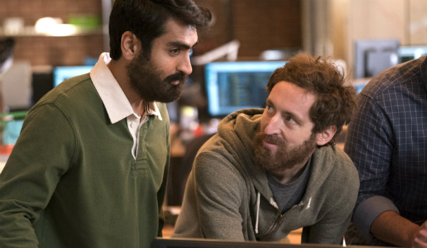 Kumail Nanjiani & Thomas Middleditch in 'Silicon Valley'