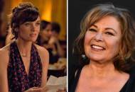 Frankie Shaw and Roseanne Barr