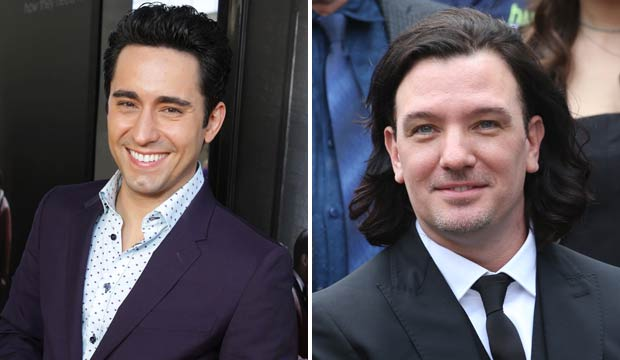 John Lloyd Young and JC Chasez