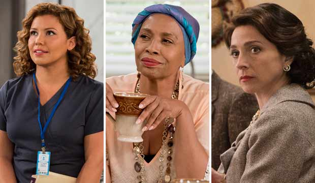 Emmy underdogs Justina Machado Jenifer Lewis and Marin Hinkle