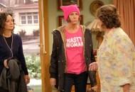 Sara Gilbert, Laurie Metcalf and Roseanne Barr, Roseanne