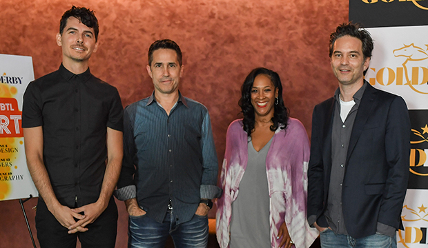 "Brendan ""Eskmo"" Angelides, Mac Quayle, Lyah Beth LeFlore and Jeff Russo"