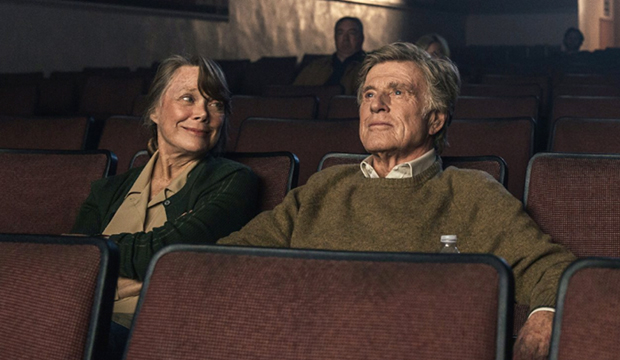 Sissy Spacek and Robert Redford, The Old Man and the Gun