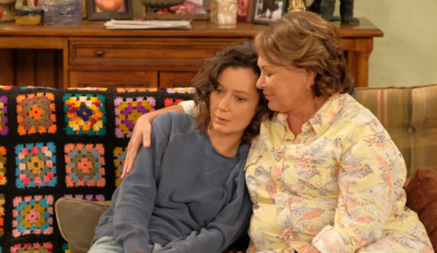 Sara Gilbert and Roseanne Barr, Roseanne