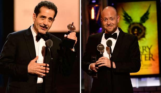 Tony Shalhoub and John Tiffany Tony Awards 2018