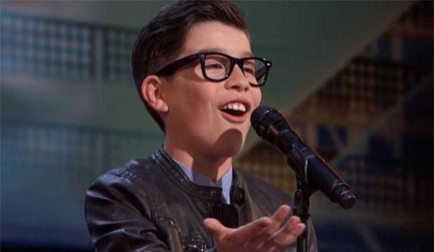 'America's Got Talent': Angel Garcia sings 'El Triste' on ...