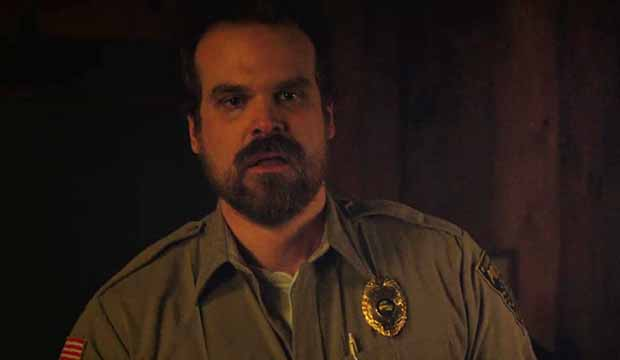 David Harbour on Stranger Things