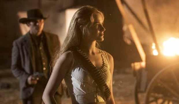 Evan Rachel Wood on Westworld