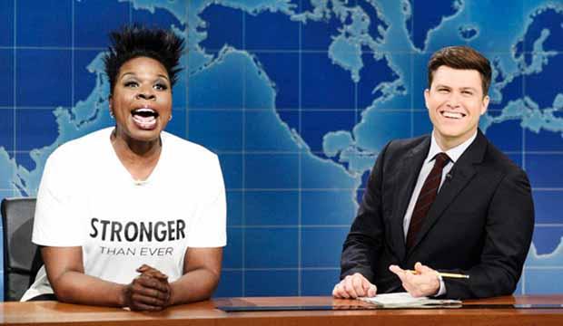 Leslie Jones on Saturday Night Live