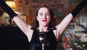 Rachel Brosnahan on The Marvelous Mrs. Maisel