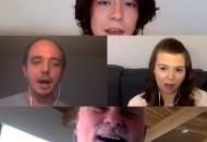 Riley Chow, Zach Laws, Amanda Spears, Tom O'Brien