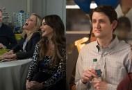 Jesse Tyler Ferguson, Julie Bowen and Sofia Vergara, Modern Family; Zach Woods, Silicon Valley
