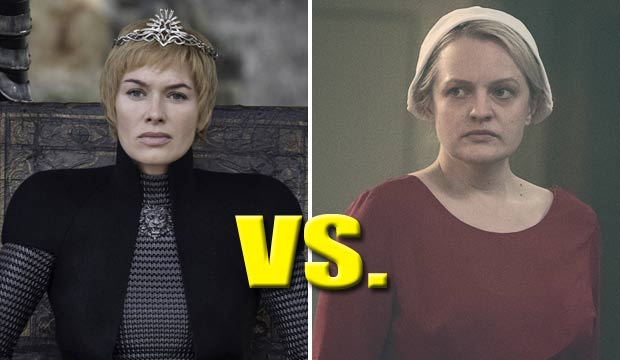Game of Thrones vs Handmaids Tale at the Emmys