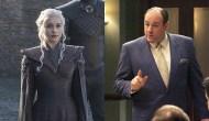 Emilia Clarke, Game of Thrones; James Gandolfini, The Sopranos