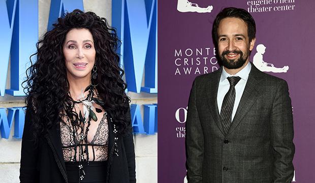 Cher; Lin-Manuel Miranda