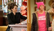 Megan Mullally, Will & Grace; Laurie Metcalf, Roseanne