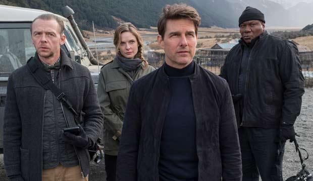 Tom Cruise Simon Pegg Ving Rhames Rebecca Ferguson Mission Impossible Fallout
