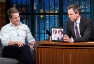 Hugh Grant and Seth Meyers, Late Night with Seth Meyers