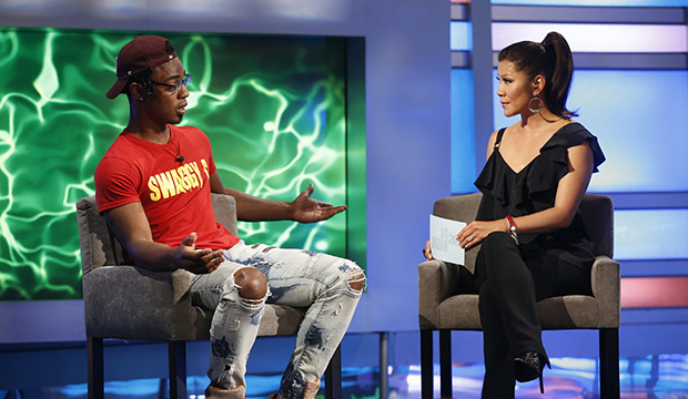 Swaggy C and Julie Chen, Big Brother 20