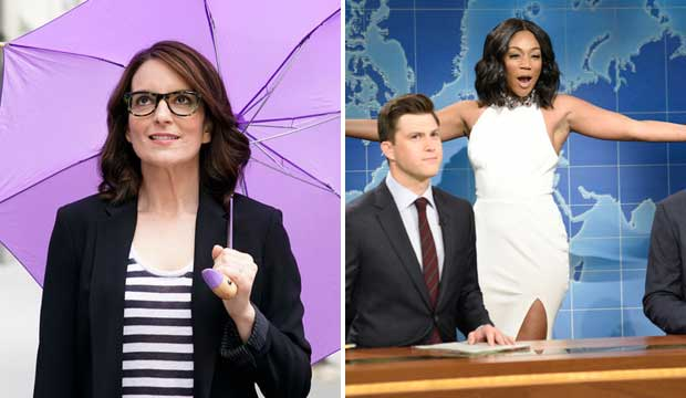 Tina Fey and Tiffany Haddish on SNL