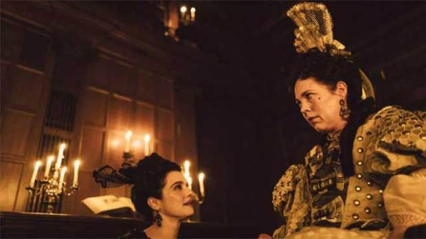 The-Favourite-Rachel-Weisz-Olivia-Colman