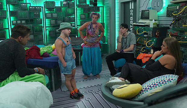 Faysal, JC, Rockstar, Scottie and Haleigh; Big Brother 20