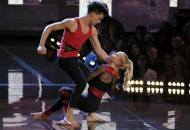 Charity and Andres in World of Dance