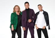 Mandy Moore, Val Chmerkovskiy and Adam Rippon; Dancing with the Stars: Juniors