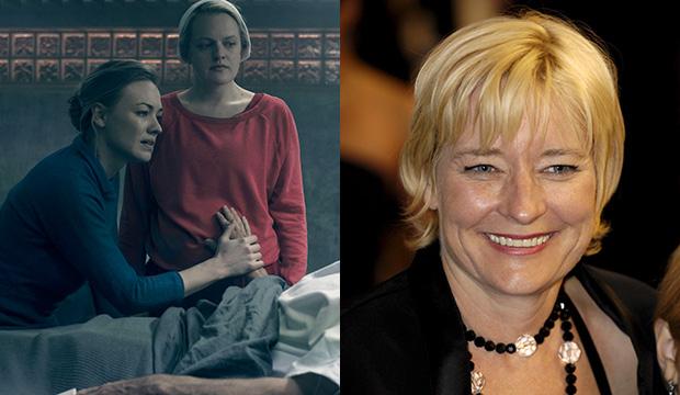 Yvonne Strahovski and Elisabeth Moss, The Handmaid's Tale; Kari Skogland
