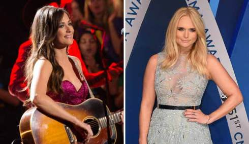 Kacey Musgraves and Miranda Lambert