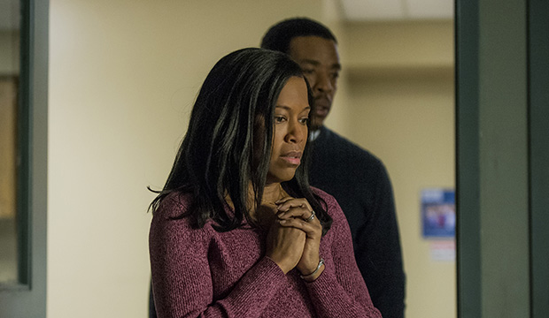 Regina King and Russell Hornsby, Seven Seconds