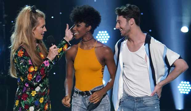 Chelsea and Evan on SYTYCD