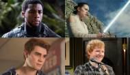 Black Panther Star Wars Riverdale Ed Sheeran