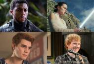 Black Panther Star Wars Riverdale Ed Sheeran