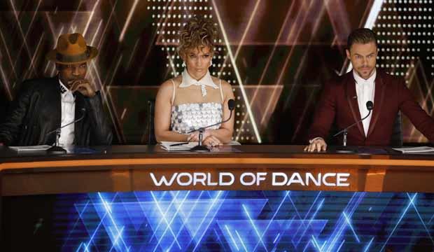 Ne-Yo Jennifer Lopez Derek Hough