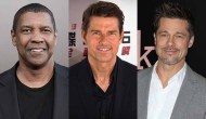 Denzel Washington Tom Cruise Brad Pitt