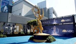 Emmys Statue Microsoft Theater