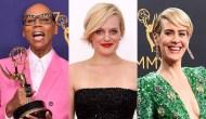 RuPaul Charles Elisabeth Moss Sarah Paulson Emmys