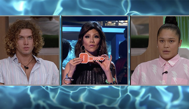 Tyler, Julie Chen and Kaycee, Big Brother 20