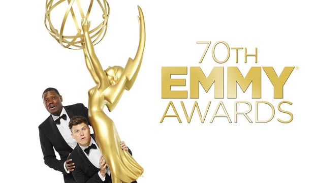 Michael Che and Colin Jost host the Emmy Awards 2018