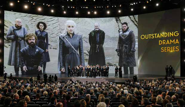 Game of Thrones at Emmys 2018