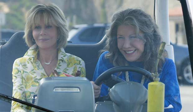 Lily Tomlin in Grace and Frankie the home